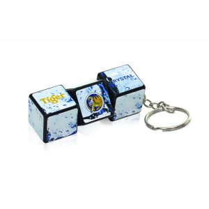 rubiks blocks keychain