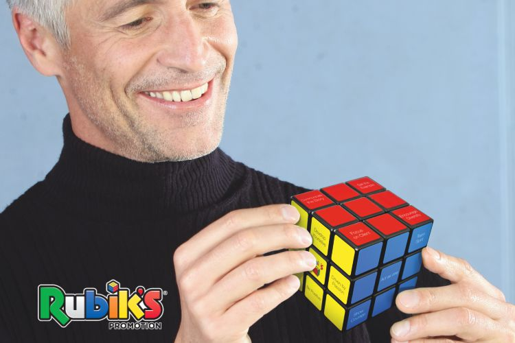 rubik promotional cubes