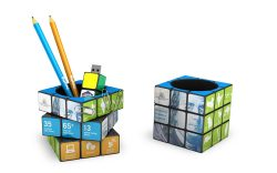 Rubiks Pen Pot