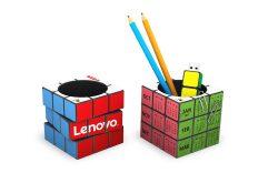 Rubiks Pen Pot Calendar