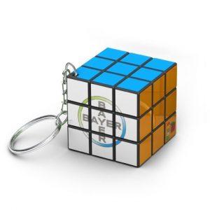 rubiks 3x3 keychain